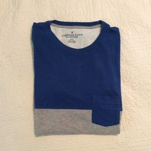 American Eagle Short Sleeve Pocket Tee